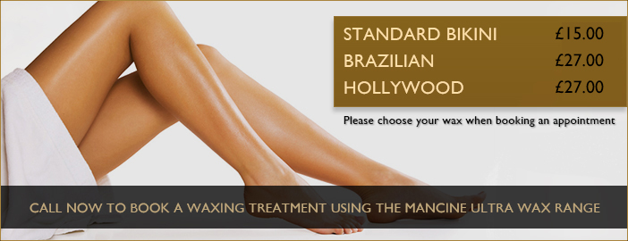 Waxing Treatment Banner